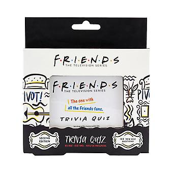 Amigos Trivia Quiz Juego 2a Edición - Test Friends Sitcom Knowledge Card Game