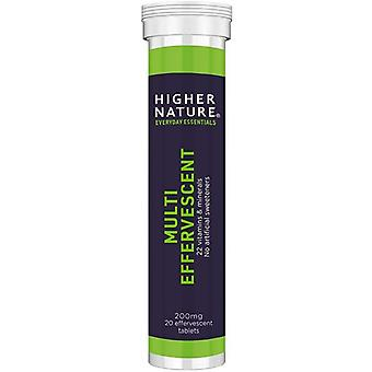 Higher Nature Fizzy Multi Effervescent Tabs 20 (FIM020)