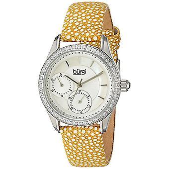 Burgi Clock Woman Ref. BUR160YL function
