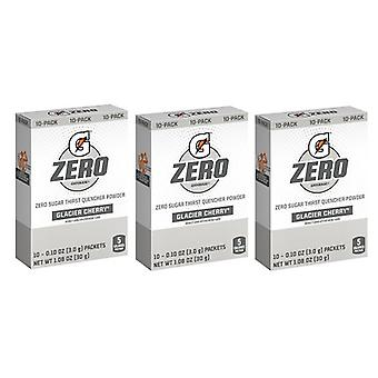 Pacchetto Gatorade zero Glacier Cherry Singles Drink Mix 3