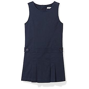 Essentials Big Girls' Uniform Jumper, Navy Blazer, M (8)
