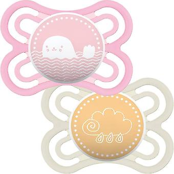 MAM Perfect 0+m Soother 2 Pack