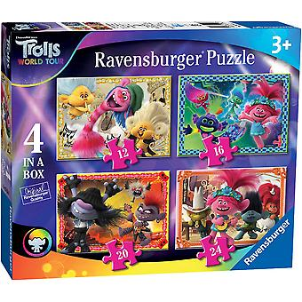 Ravensburger Trolls 2 World Tour 4 in Box Jigsaw Puzzels