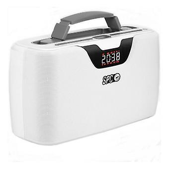 Tragbare Bluetooth Radio SPC Radio Storm Boombox 4503B 20W Weiß