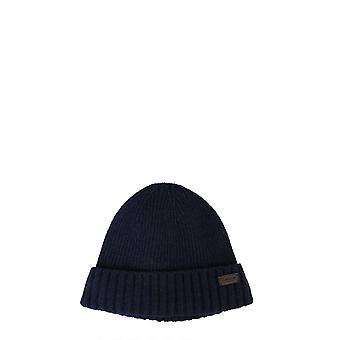 Barbour Mha0449ny31 Homme-apos;s Chapeau en laine bleue