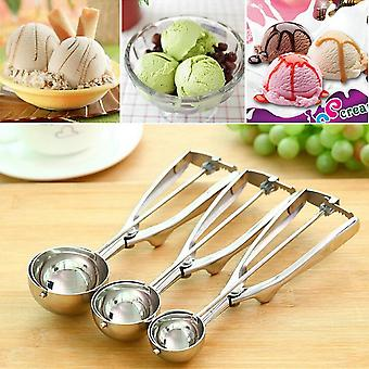 Stainless Steel Ice Cream Scoops