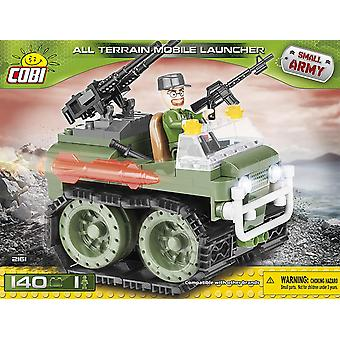 Cobi Army All Terrain Vehicle With Mounted Guns Blocks Bricks 140Pc Compatible Age 5+