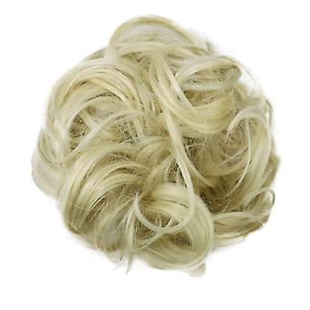 Scrunchie with synthetic hair - Blonde