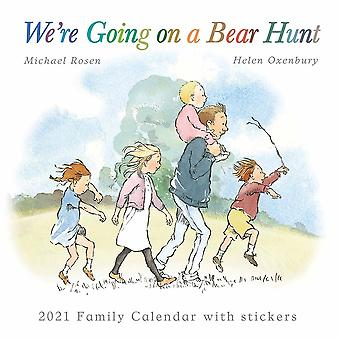 Otter House 2021 Wall Calendar - Were Going On A Bear Hunt