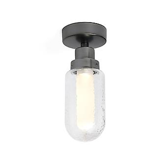 Faro Brume - Łazienka LED Lampa sufitowa Metallic Grey 3W 2700K