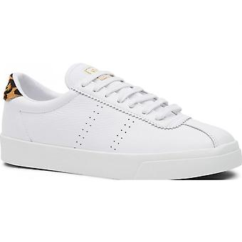 Superga 2843 Sport Club Shoe  (white Animalier)