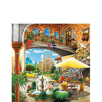 Jumbo Barcelona 1000pcs Jigsaw