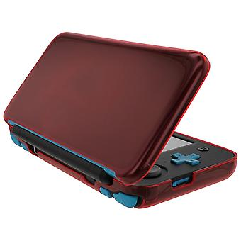 Zedlabz flexi gel tpu protector case cover for nintendo 2ds xl – red