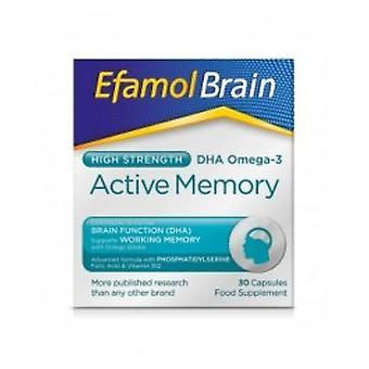 Efamol - Efamol Brain Active Memory Capsules 30s