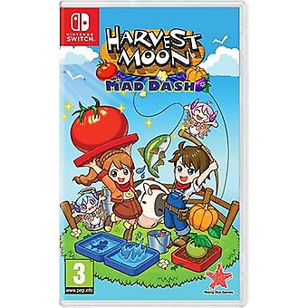 Harvest Moon Mad Dash Switch Game