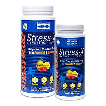 Trace Minerals Stress-X Magnesium Powder, Raspberry Lemon 1 Packet