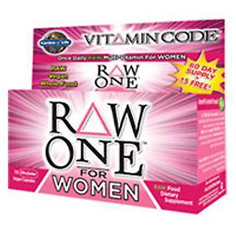 Garden of Life Vitamin Code, Raw One for kvinder 75 Caps