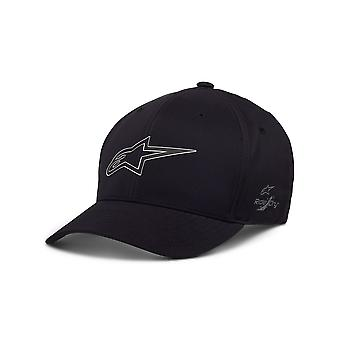 Alpinestars Men's Flexfit Cap ~ Iätön WP Tech musta