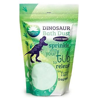 Elysium Spa Childrens Bath Dust ~ Dinosaur (green Apple)