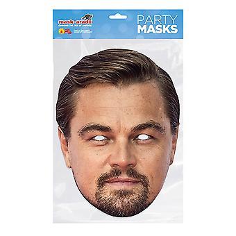 Máscara-arade Leonardo DiCaprio Máscara de fiesta