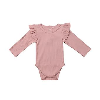 0-24m Newborn Baby Romper Long Sleeve Jumpsuit Bodysuit One-pieces Autumn