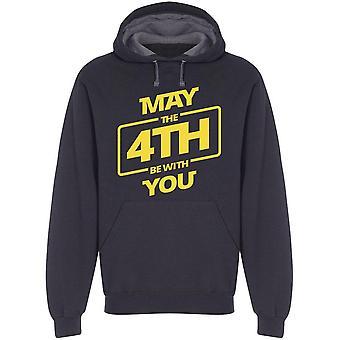 May The 4Th Greeting Hoodie Men's -Image by Shutterstock Men's Hoodie