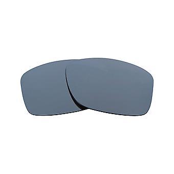 عدسات استبدال ل Oakley كوكب المشتري تربيع النظارات الشمسية المضادة للخدش الفضة