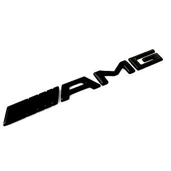 Matt Black AMG Boot Trunk Emblem Badge Stick On For All Mercedes AMGs