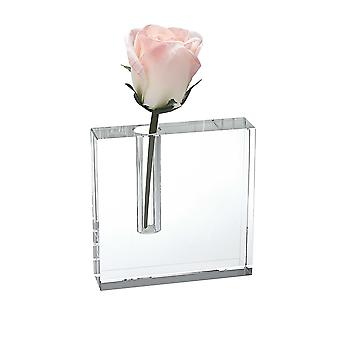 "5"" Hand Crafted Crystal Bud Vase"