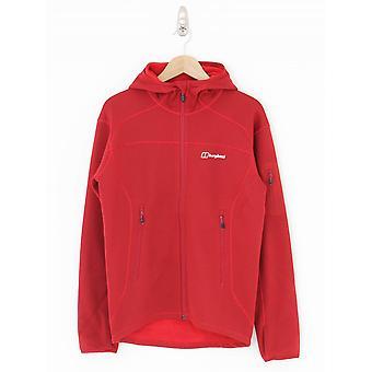 Berghaus Pravitale 2.0 Hooded Fleece Jacket - Red