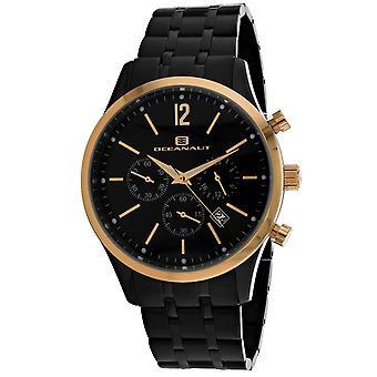 Oceanaut Men's Masterly Black Dial Watch - OC1504