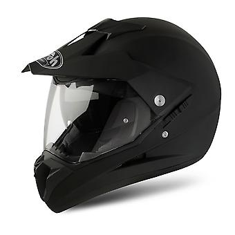 Airoh S5 Color Full Face Motor Helm Pinlock-Ready Black Matt