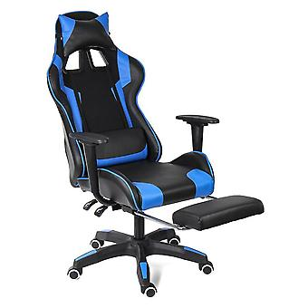 Computer Gaming Chair Lying Massage Lifting Rotatable Armchair/footrest Office