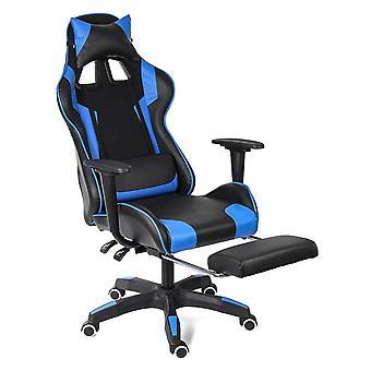 Chaise de jeu d'ordinateur se trouvant massage soulevant le fauteuil rotatable/bureau de pied