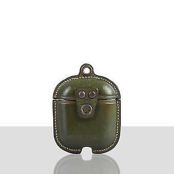 Garvat läder Lyx skyddsöverdragsfodral för Apple