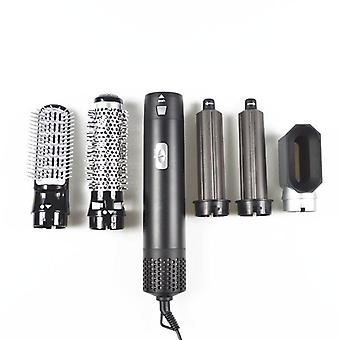 5 In 1 Multi Functional Hair Dryer, Comb Straightening Iron And Curling Rod