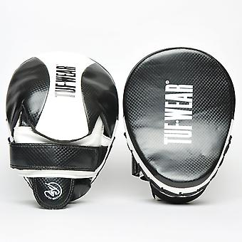 Tuf Wear Victor Curved Hook & Jab Pad Black / White