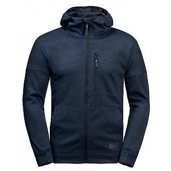 Jack Wolfskin Riverland Jas met capuchon Heren Zip Up Track Top 1707231 1010