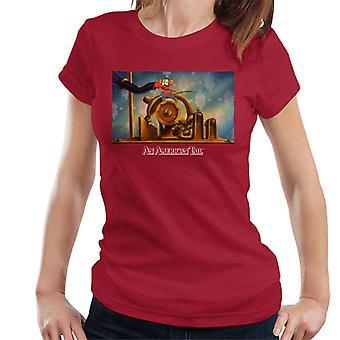アメリカンテールフィーベルマウスケヴィッツランニングウーマン&アポス;s Tシャツ