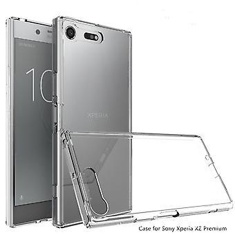 Sony Xperia XZ Premium Iskunkestävä TPU-kotelon kansi - Läpinäkyvä