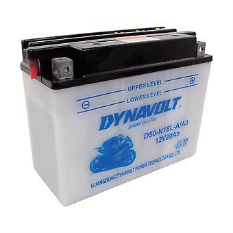 Dynavolt C50N18LA3 High Performance Battery With Acid Pack