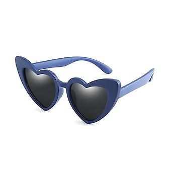 Uv400- Polariseret Fleksibel, Hjerte Solbriller,