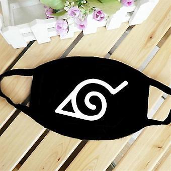 Anime Naruto Maske Cosplay Prop Vaskbar støv-bevis masker