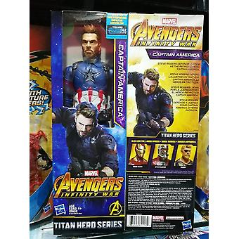 Marvel Avengers Infinity War Titan Hero -sarja Iron Man Black Panther Steve