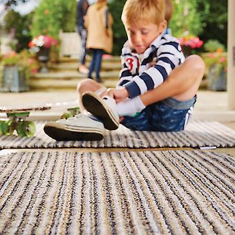 Abrazo de felpudos seleccione alfombra en Portland raya
