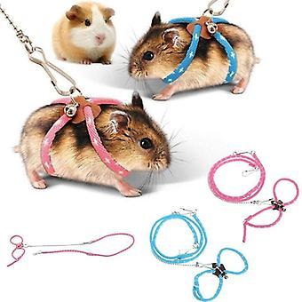 Hamster Harness Adorável Ajustável