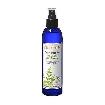 Organic Floral Lemon Balm Water Mist 200 ml of floral water