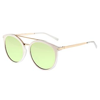 Sixty One Moreno Polarized Sunglasses - White/Mint