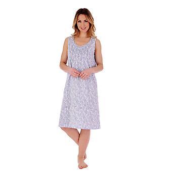 Slenderella ND77111 Women's Paisley Nightdress