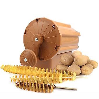Manuel Twist Spiral Kartoffel Cutter Hvirvelvind Kartofler Pommes frites Slicer
